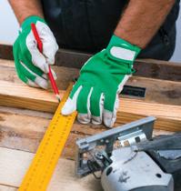 At Carpenter's workshop - Measuring and marking