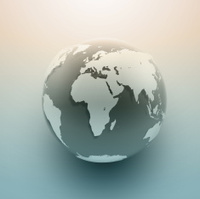 Vector World Globe Illustration