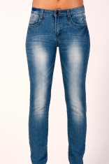 253219ec1f Shapely Female Legs Dressed IN Dark Blue Jeans Stock Photos ...