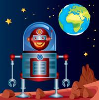 Robot and Mars