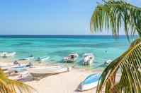Beach of island Grand Roque
