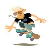 Old Skater
