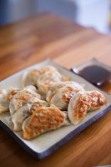 pan fried dumpling