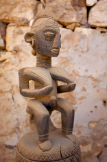 African Mask & artwork