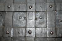 black iron gate