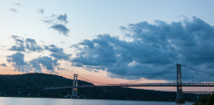 Mid Hudson Bridge - Dusk