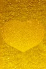 frozen golden heart