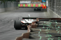Hot racing blur