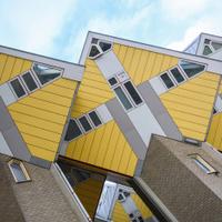 Dutch cube houses in Rotterdam