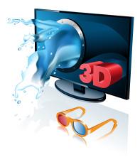 three-dimensional TV