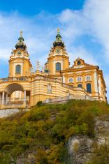 Melk Abbey in the Wachau valley, Austria