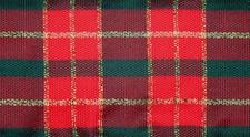 Christmas checkered.ribbon background