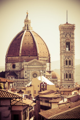 Duomo di Firenze and Giotto's bell tower