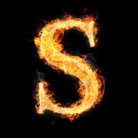 Fonts and symbols in fire