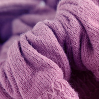 Pink and soft wool
