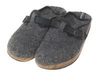 grey slipper - Hausschuhe
