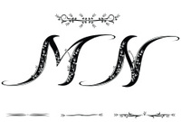 Letter M and N