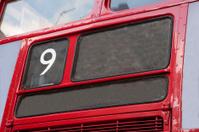London Bus showing Number Nine