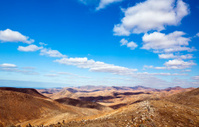 Volcanic landscape at Fuerteventura