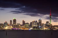 Auckland Skyline - Night