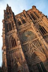Cathedrale Notre Dame (Strasbourg - France)Straßburg Munster, Fr