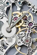 clock hands and mechanism