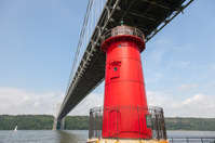 George Washington Bridge - The Little Red Lighthouse 2012