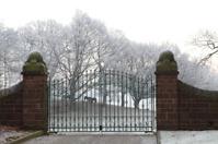 Grand gateway.