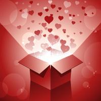Valentine gift box