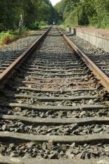Old german rail track