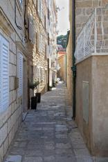 Narrow Dubrovnik street
