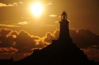 La Corbiere lighthouse, Jersey.