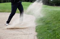 Golf bunker stroke