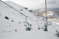 Ski Lift, Mount Hermon, Israel