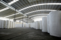 Paper mill's paper-making raw materials