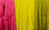 Dyed silk filament