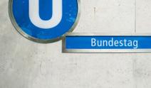 Subway Station Bundestag Berlin