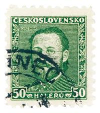 Czech Post Stamp - Smetana