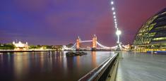River Thames panorama