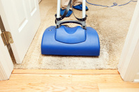 Carpet Cleaning with Brush Encapsulation Machine