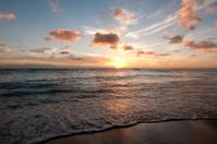 Vivid Waikiki Sunset