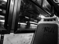Vandalised Bus