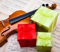 Gift and violin