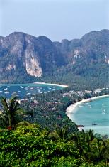Thailand, Krabi Province, Ko PhiPhi Don Island.