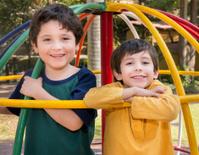 Kids Inside Playground Spinner
