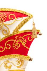 Brocaded carnival hat