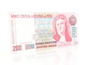 Peruvian 200 Nuevos Soles Note