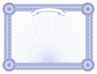 Large Certificate - Diploma (BLUE VARIANT)