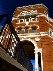 Weatherford Hall Entrance