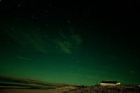 Night sky at Beach in Valizas